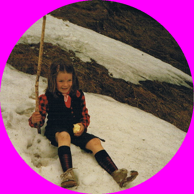 Claudia Hinterauer im Bregenzerwald